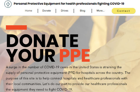 Donate PPE Website